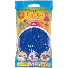 Hama vasalható gyöngy - 1000 db-os neon kék - Midi