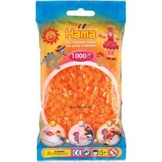 Hama vasalható gyöngy - 1000 db-os neon narancs - Midi