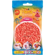 Hama vasalható gyöngy - 1000 db-os pasztell piros - Midi