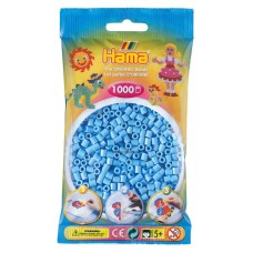 Hama vasalható gyöngy - 1000 db-os pasztell kék Midi