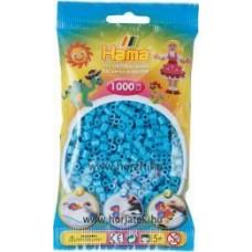 Hama vasalható gyöngy - 1000 db-os azúrkék - Midi