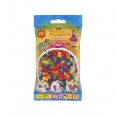 Hama vasalható gyöngy - 1000 db-os vegyes színű Midi