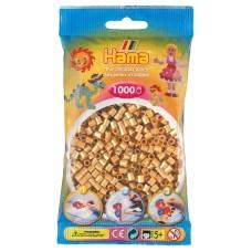 Hama vasalható gyöngy - 1000 db-os arany színű Midi