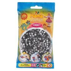 Hama vasalható gyöngy - 1000 db-os ezüst színű Midi