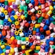 Hama vasalható gyöngy - 1000 db-os élénk vegyes (22 szín) Midi