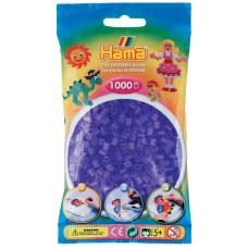 Hama vasalható gyöngy - 1000 db-os átlátszó világoslila - Midi