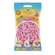Hama vasalható gyöngy - 1000 db-os pasztell rózsaszín Midi