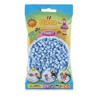 Hama vasalható gyöngy - 1000 db-os pasztell jégkék Midi