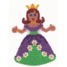 Hama vasalható gyöngyhöz Alaplap Midi - Hercegnő