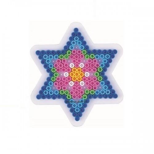 Hama vasalható gyöngyhöz Alaplap Midi - Kis csillag