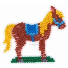 Hama vasalható gyöngyhöz Alaplap Midi - Ló