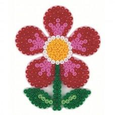 Hama vasalható gyöngyhöz Alaplap Midi - Virág