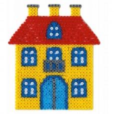Hama vasalható gyöngyhöz Alaplap Midi - Ház