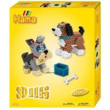 Hama Ajándékdoboz - 3D Kutya - Midi