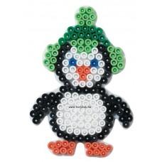 Hama vasalható gyöngyhöz Alaplap Midi - Kis Pingvin