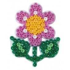 Hama vasalható gyöngyhöz Alaplap Midi - Kicsi Virág
