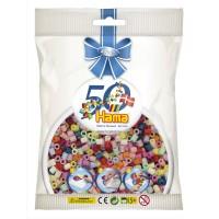 Hama Évfordulós vasalható gyöngy-2000 darabos vegyes színű -  Limitált kiadás