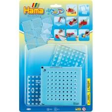 Hama gyöngyrögzítő matrica készlet alaplappal-Maxi