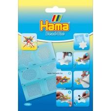 Hama gyöngyrögzítő matrica készlet-Midi alaplapokhoz