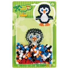 Első Hama vasalható MAXI gyöngy kezdőkészletem - Pingvin