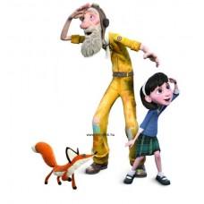 Hape A Kis Herceg Figurák - Kislány, Pilóta és a Róka