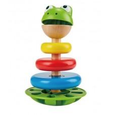Hape Montessori torony - Hangot adó béka