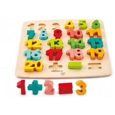 Hape Számok - puzzle