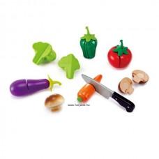 Hape Szeletelhető kerti zöldségek