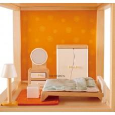 Hape Hálószoba bútor - Babaházhoz