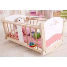 Hape Bölcső - Játékbabához