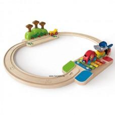 Hape Szórakoztató vonat szett