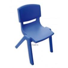 Színes Szék, 39 cm, kék