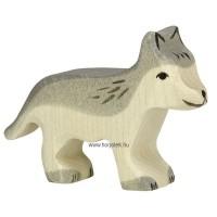 HOLZTIGER állatfigura, farkas