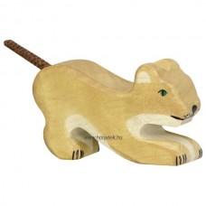 HOLZTIGER Állatfigura, oroszlán, kicsi