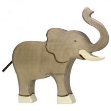 HOLZTIGER Állatfigura, elefánt