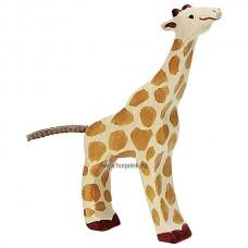 HOLZTIGER Állatfigura, zsiráf, kicsi