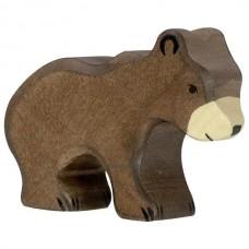 HOLZTIGER Állatfigura, medve, kicsi