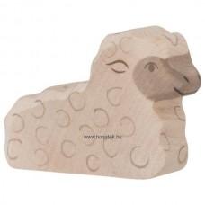 HOLZTIGER Állatfigura, bárány, fekvő