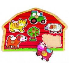Fogantyús puzzle - A ház körül