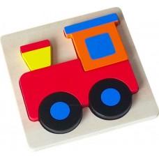 Vonat - Magasított Puzzle