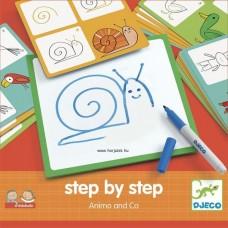 Rajzolás lépésről lépésre-  állatok