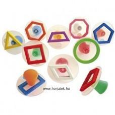 Nyomda,geometriai formák kontúr