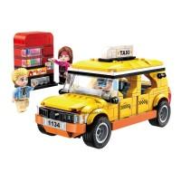 Városnéző taxi - építőjáték 322 db-os építőjátékkészlet