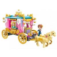 Leah hercegkisasszony lovashintója - 458 db-os építőkészlet