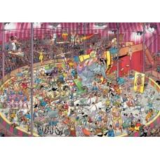 Képregény puzzle- A cirkuszban