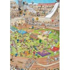 Képregény puzzle-Olimpia