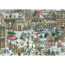 Képregény puzzle-Karácsony