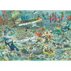 Képregény puzzle-A tenger alatt