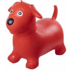 Ugráló kutya, piros