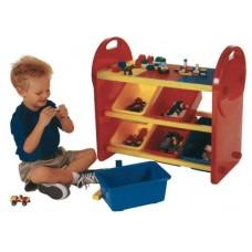 Építőlapos játéktároló